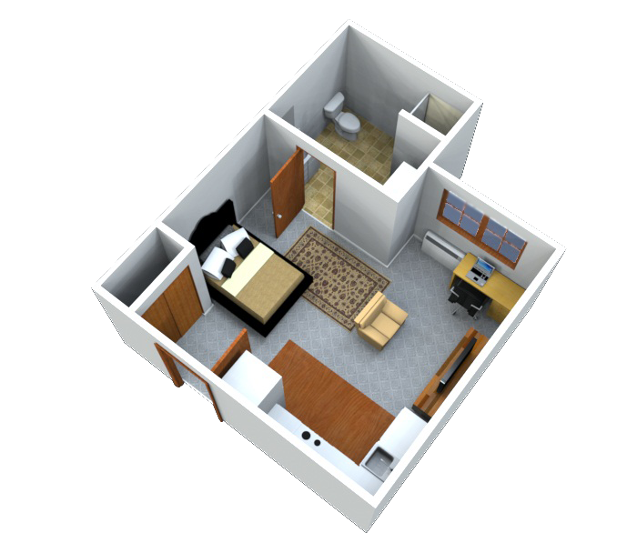 3-D Models (Up To 7,500sf)